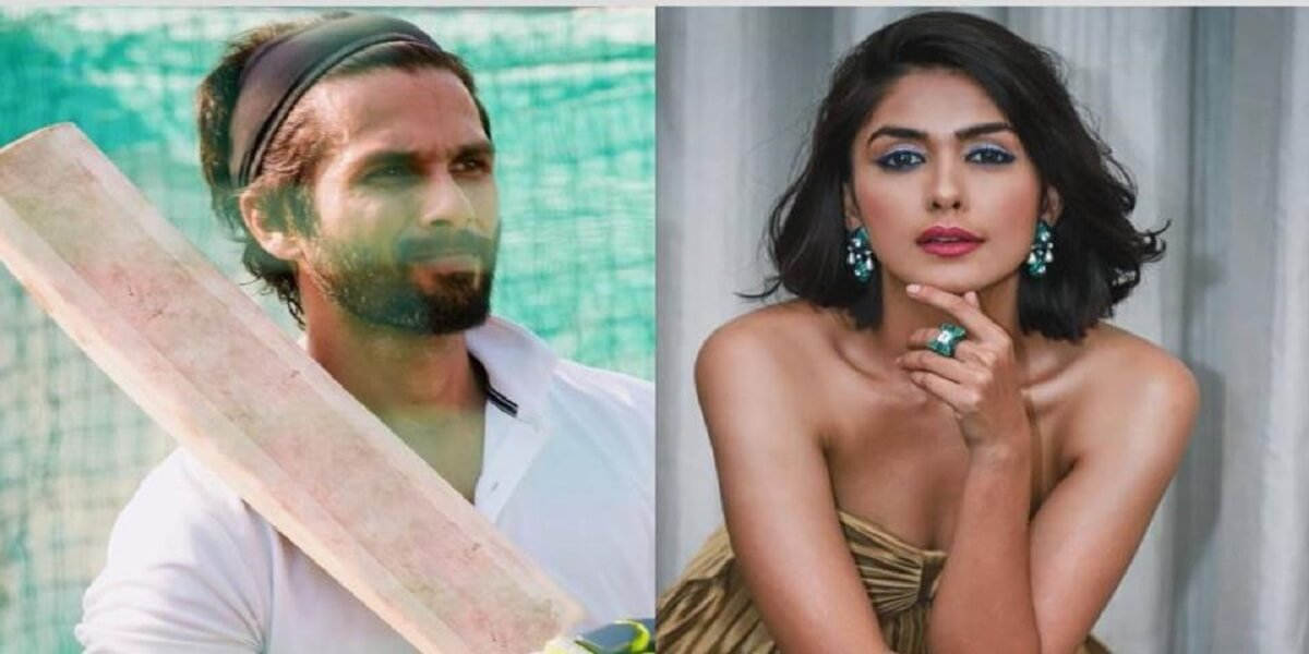 Mrunal Thakul introduced as the lead actress in Shahid Kapoor's Jersey remake