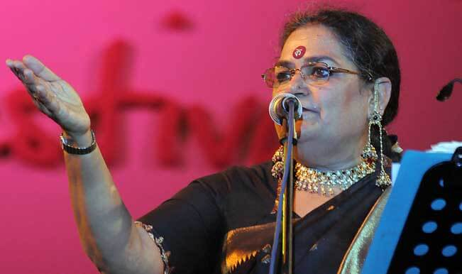 No one expected woman in saree singing in a nightclub: Usha Uthup
