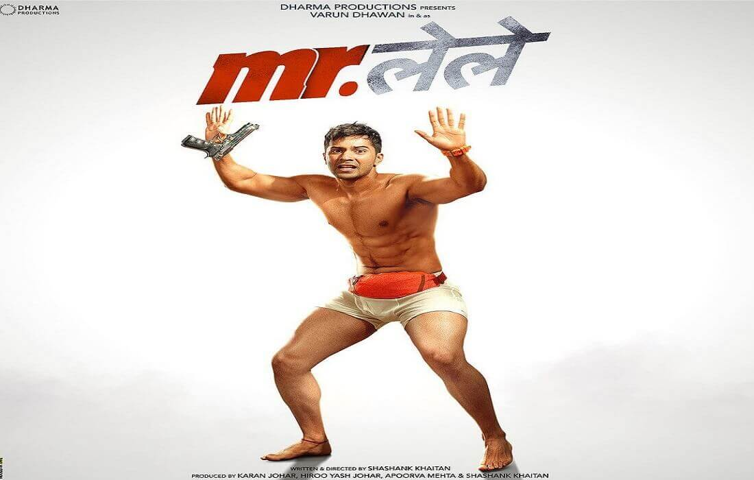 First look poster of Varun Dhawan's Mr.Lele is Out