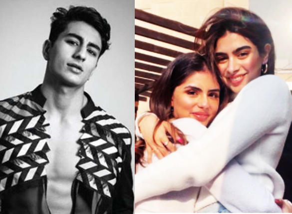 """Ibrahim Ali Khan comments """"double trouble"""" on Khushi Kapoor's Instagram picture with her best friend"""
