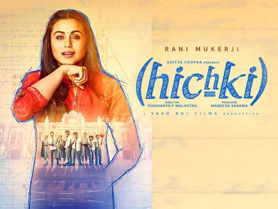 Hichki: Rani Mukherjee's film touches 6.03 crore mark on day three