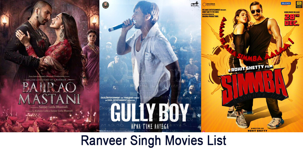 All Ranveer Singh Movies (From 2010 to till Date)