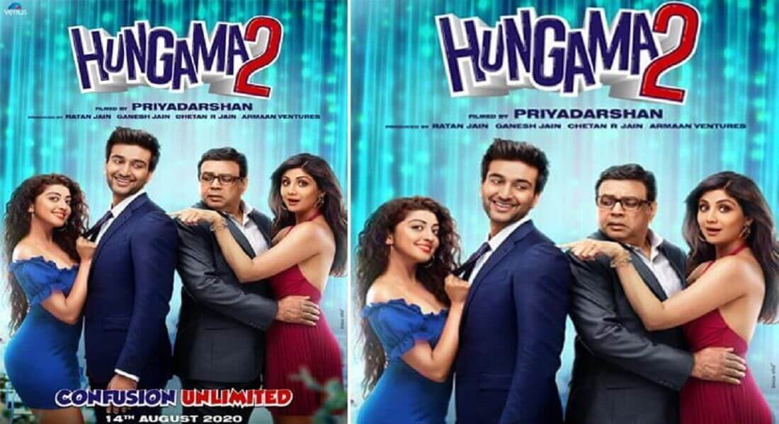 First Poster of 'Hungama 2' is out