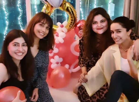 Shraddha Kapoor celebrates Valentine's Day with her girls and it is all love