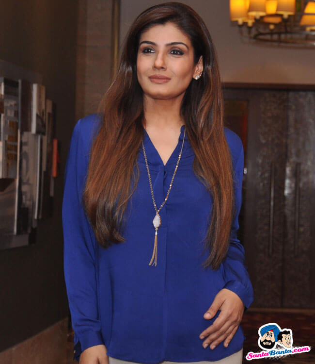 Raveena Tandon talks about fitness and her early days in the film industry