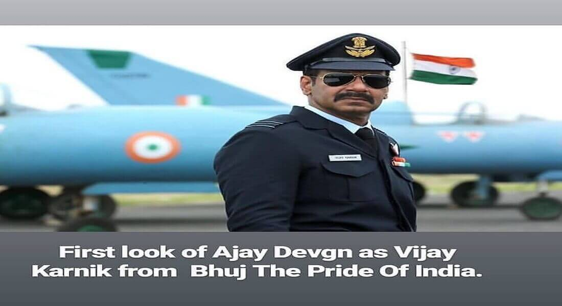 Ajay Devgn's first Look from 'Bhuj: The Pride of India' is Revealed