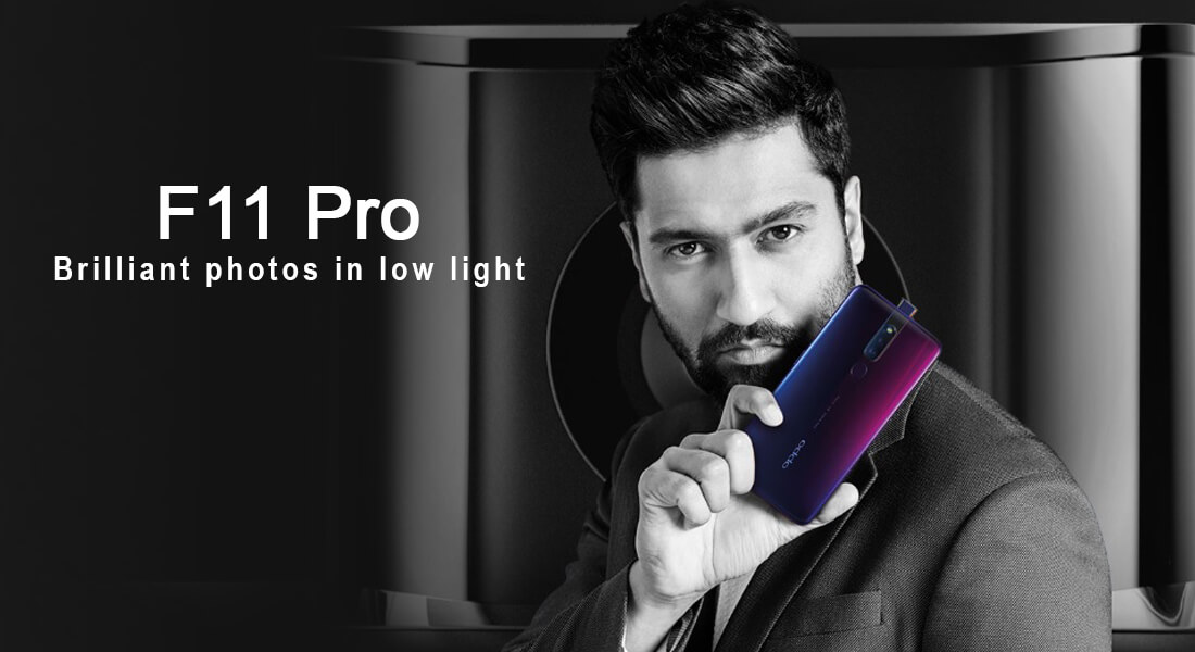 Oppo F11 Pro's 6 GB RAM and 128GB Verint sales launched in India