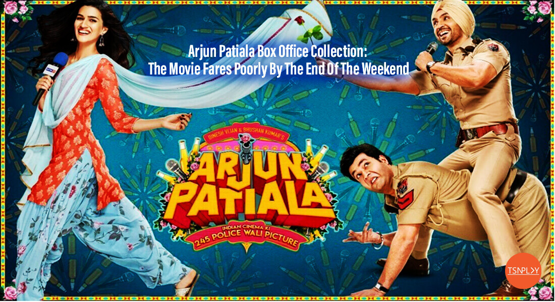 Arjun Patiala Box Office Collection: The Movie Fares Poorly By The End Of The Weekend