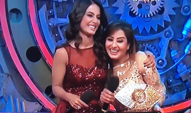 Shilpa Shinde asks fan-clubs to stop spreading hatred against Hina Khan