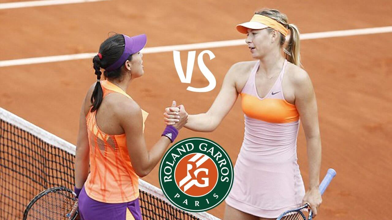 French Open 2018: Garbine Muguruza defeats Maria Sharapova