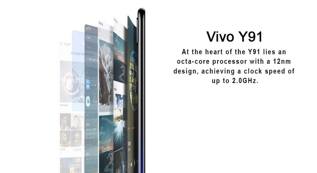 Vivo Y91 3GB RAM Variants Launched in India, Look Price and More