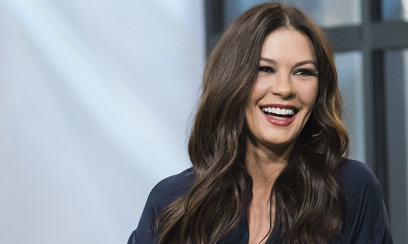 Catherine Zeta-Jones states that she became successful because she was fearless