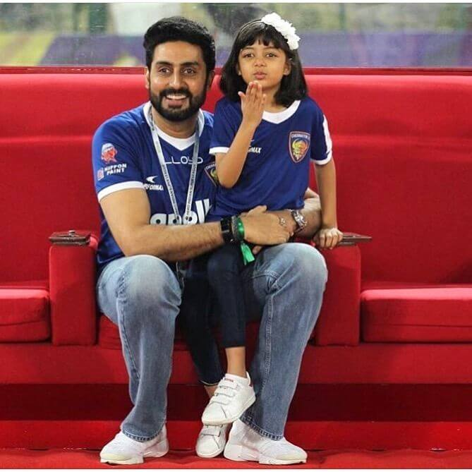 Abhishek Bachchan talks about daughter Aaradhya