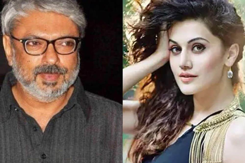 Taapsee Pannu to play double role in Sanjay Leela Bhansali's 'Sia Jia'