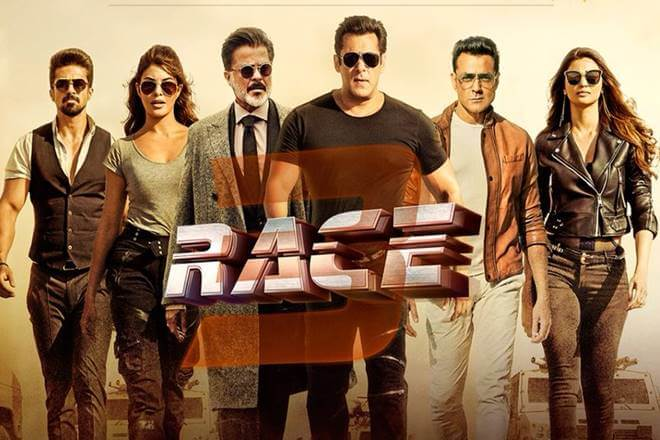 Salman Khan's film, Race 3 mints Rs 106.47 Crore