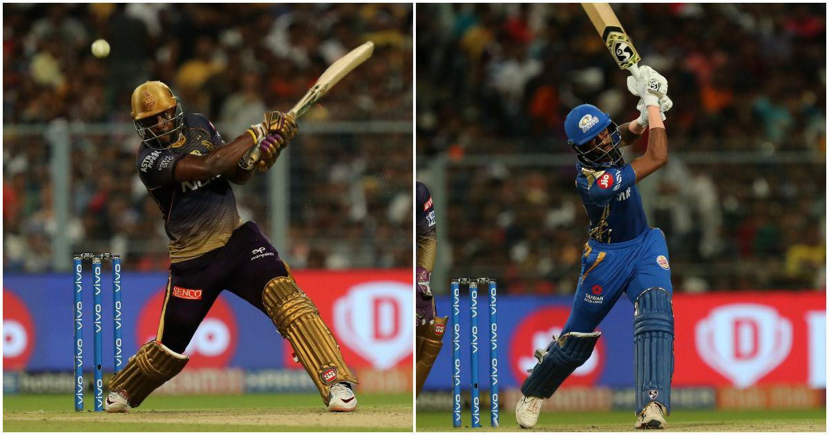 It's Pandya vs Russell in tonight's game of IPL 2020