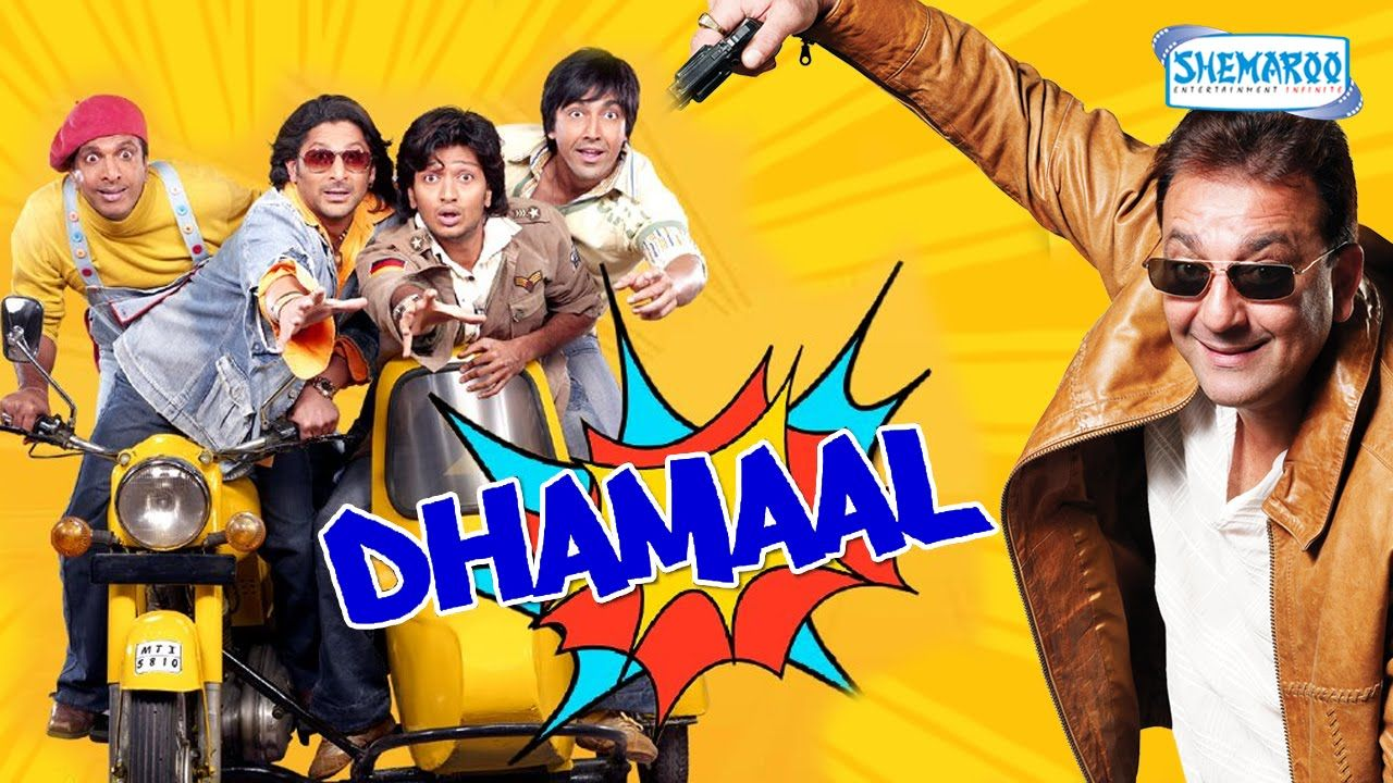 Dhamaal movie is one such Bollywood movie which is copied from Hollywood