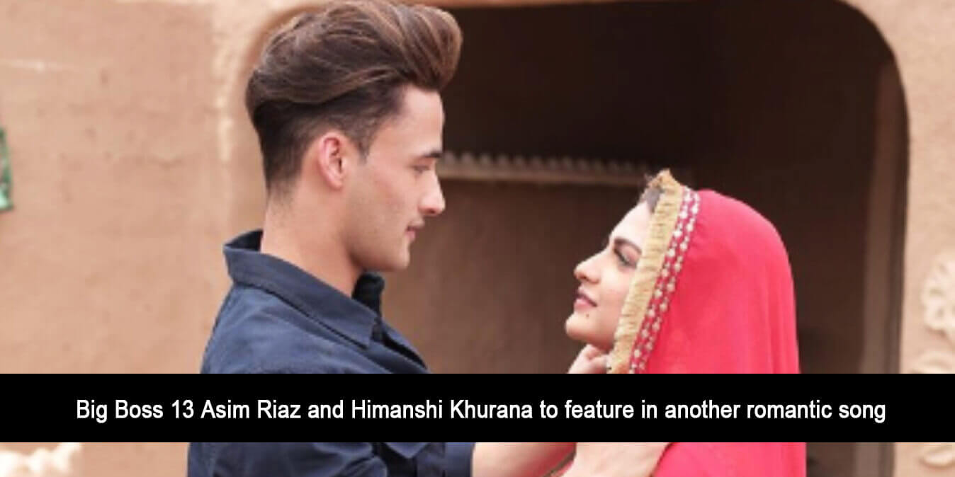 Big Boss 13 Asim Riaz and Himanshi Khurana to Feature in Another Romantic Song