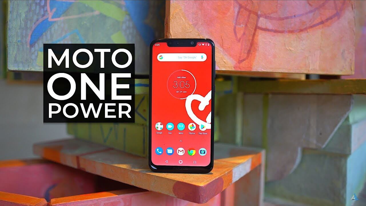 Motorola One Power 2018