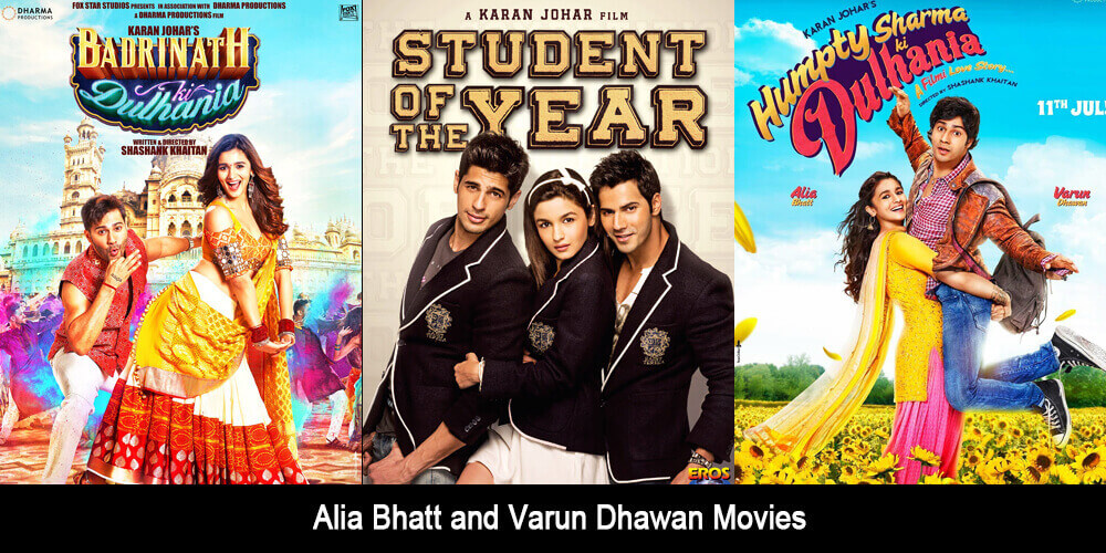 Alia Bhatt and Varun Dhawan Movies