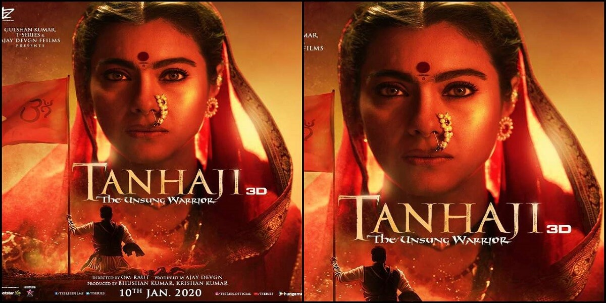 Kajol's much-awaited poster from 'Tanhaji' is out