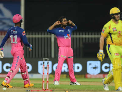 CSK vs RR: 3 Moments where CSK lost their first match in IPL 2020