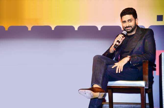 Abhishek Bachchan comments on pay parity