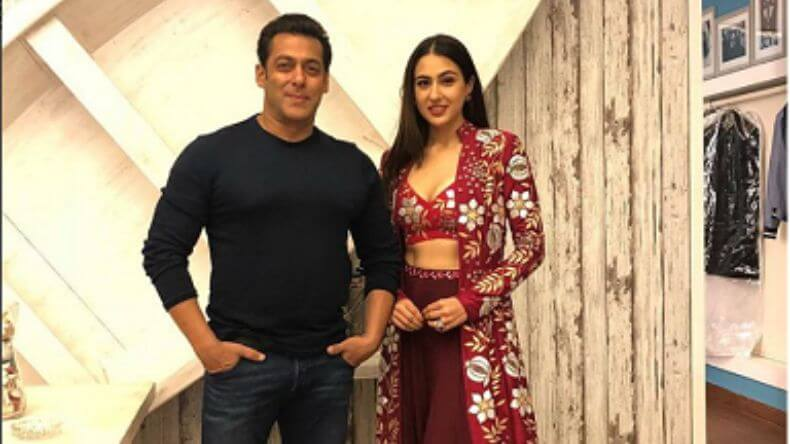 Sara Ali Khan and Salman Khan