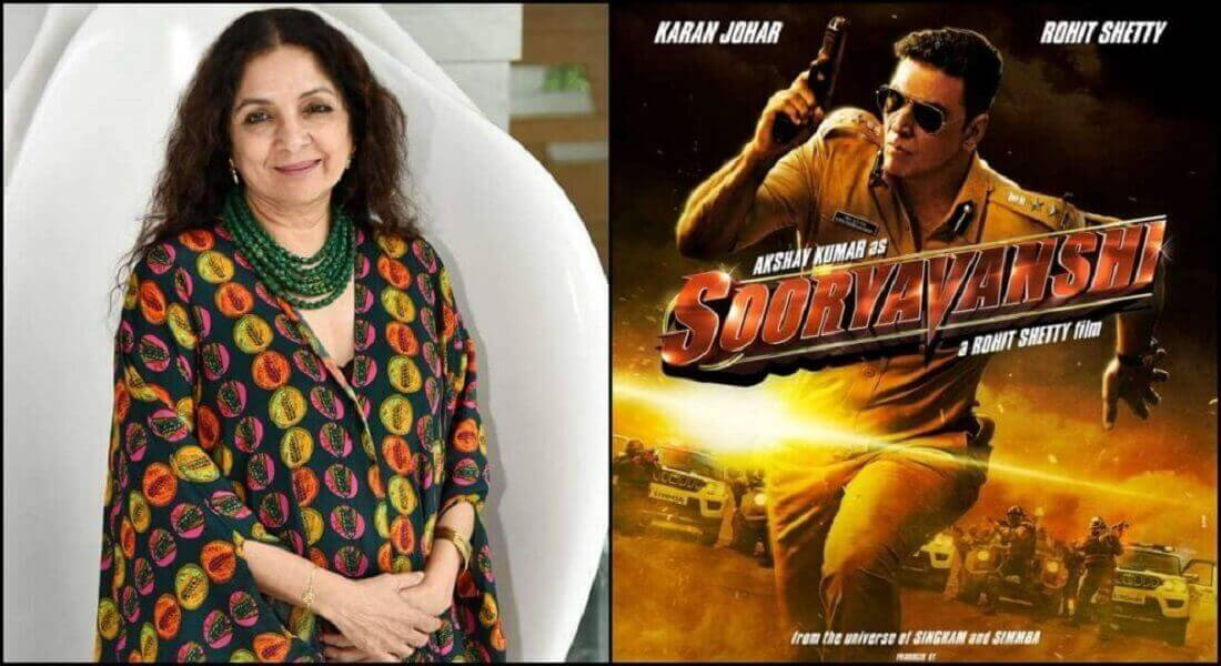 Neena Gupta is no more a part of Akshay Kumar's film 'Sooryavanshi'
