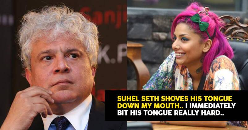 Diandra Soares: Suhel Seth shoved his tongue down my mouth. I bit him