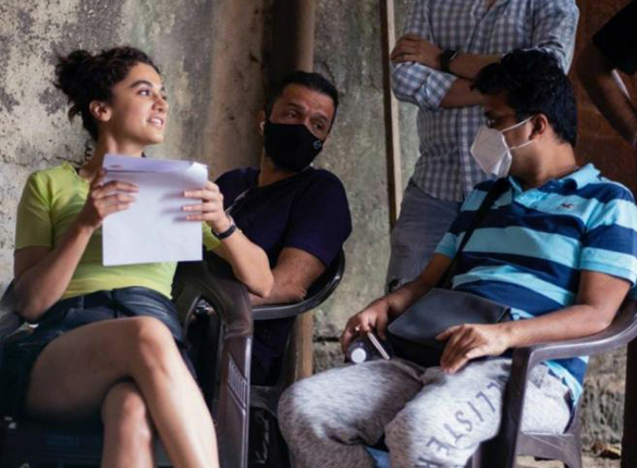 Taapsee Pannu completes the shooting schedule for Looop Lapeta, says she is grateful that she got the role when she initially wanted to refuse