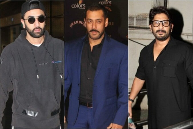 Ranbir Kapoor trolls back Salman Khan and Arshad Warsi for their comments about Sanju