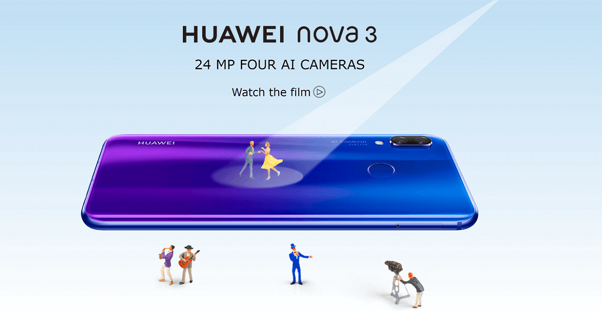 Huawei Nova 3i, Nova 3 With 4 Cameras, 128GB Storage Launched in India, Sale Soon: Price, Specifications