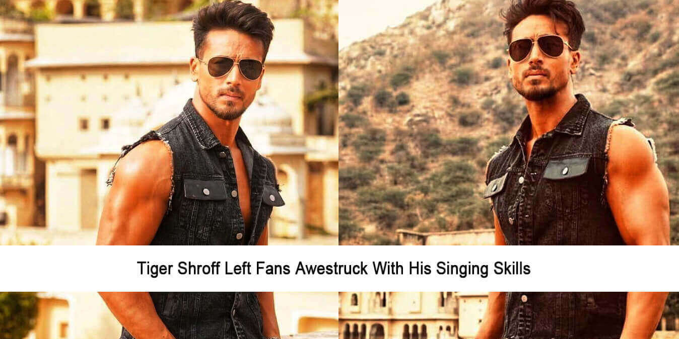 Tiger Shroff Left Fans Awestruck with His Singing Skills