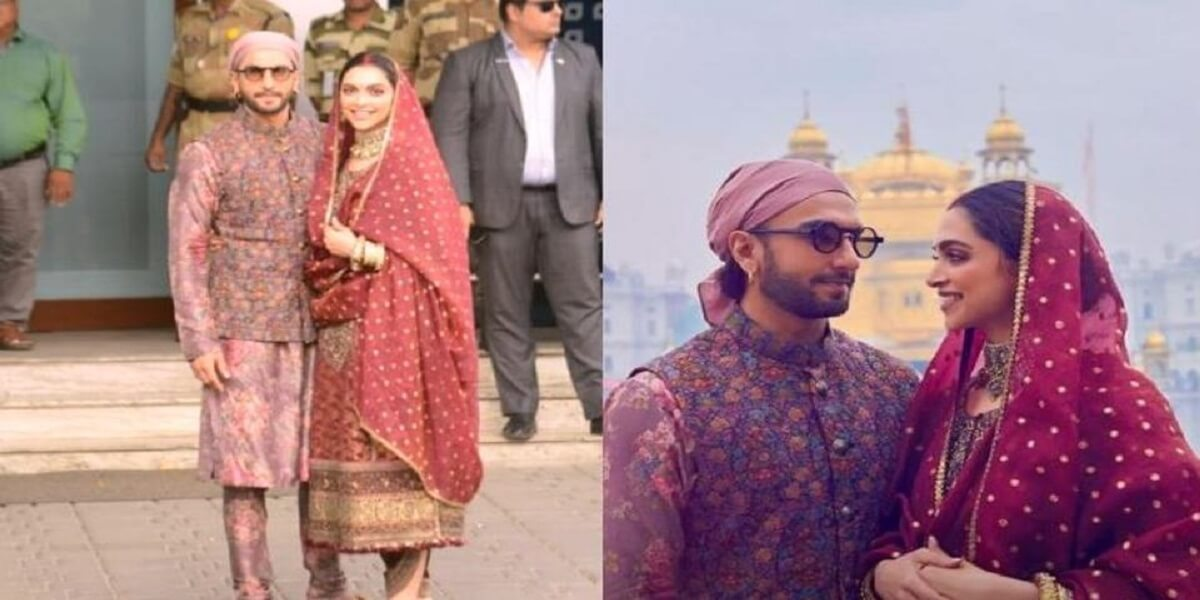 DeepVeer looked Royal as they visited Amritsar for their Wedding Anniversary