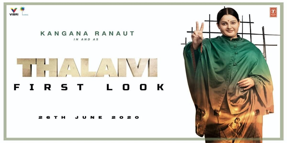 Kangana Ranaut's look in Thalaivi will leave you awestruck