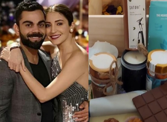 Anushka Sharma and Virat Kohli request media to respect their privacy by sending gift hampers