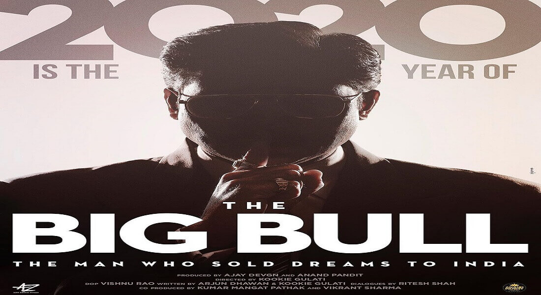 Abhishek Bhachchan shares an intense poster from the movie 'Big Bull'