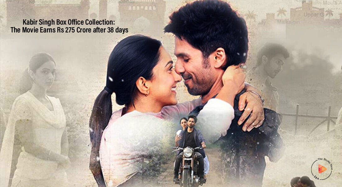 Kabir Singh Box Office Collection: The Movie Earns Rs 275 Crore after 38 days