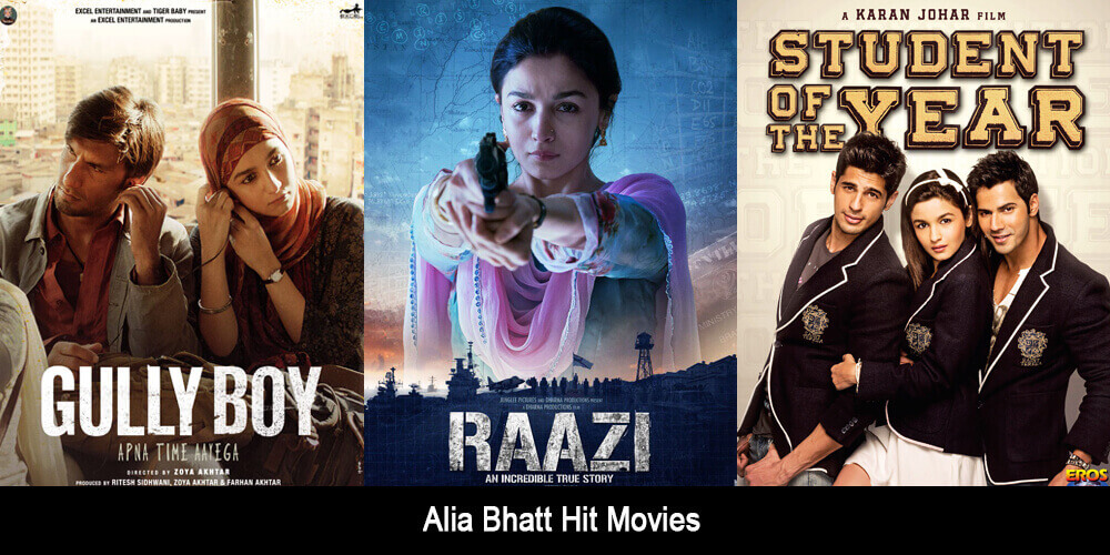 Alia Bhatt Hit Movies