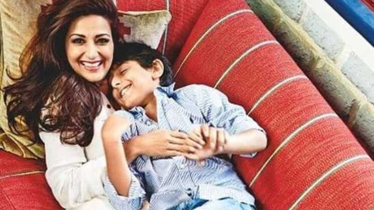 Sonali Bendre posts an emotional birthday wish for her son