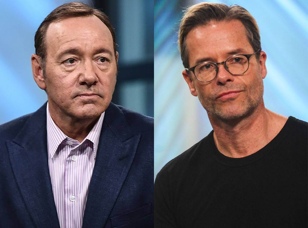 "Guy Pearce calls Kevin Spacey ""Handsy"""