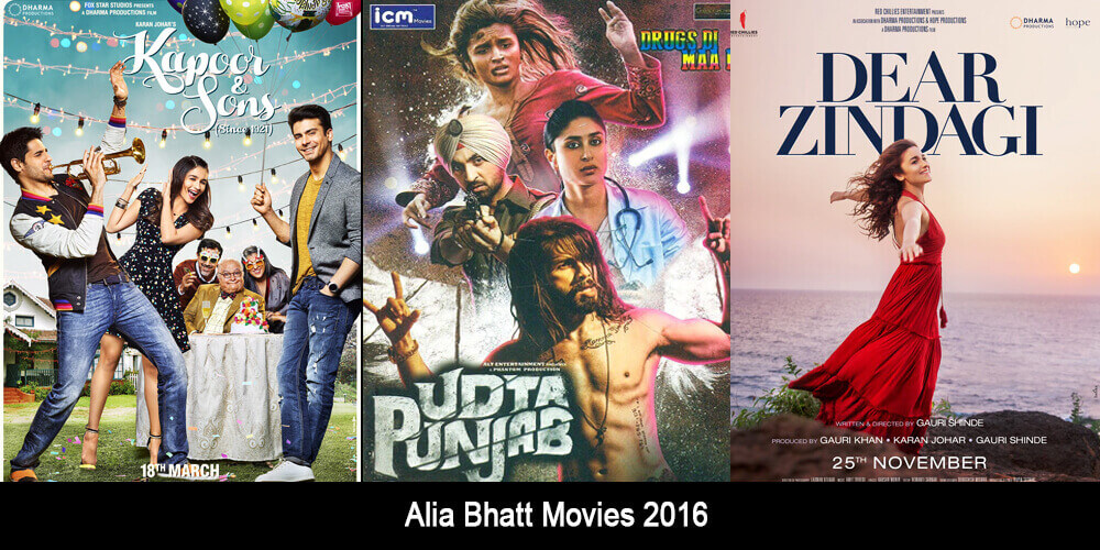 Alia Bhatt Movies 2016
