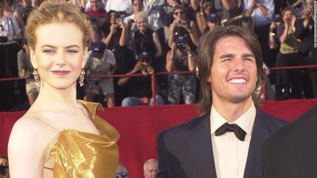 Nicole Kidman says that being married to Tom Cruise kept her from being sexually harassed