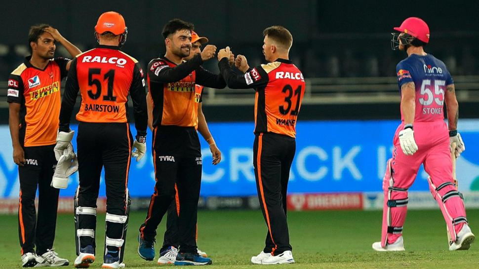 SRH steals the game from RR!