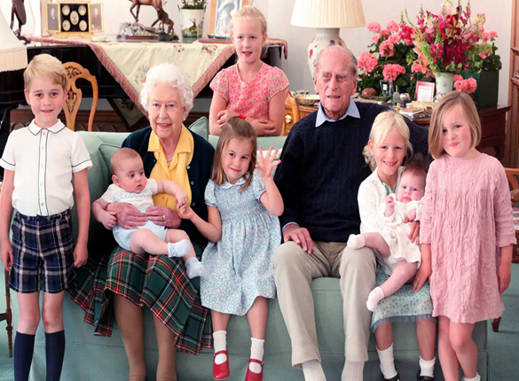 Before Prince Phillip's funeral family members Prince Charles, Prince William and Kate Middleton share pictures with him