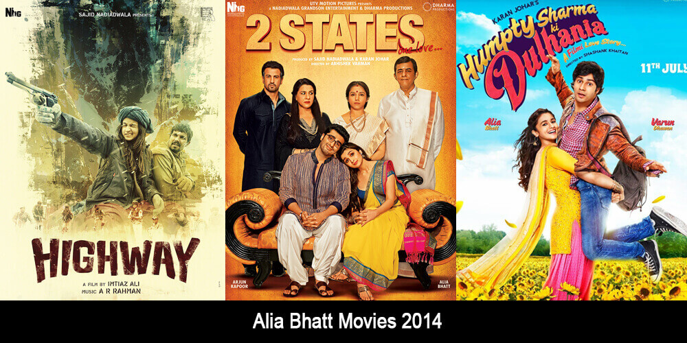 Alia Bhatt Movies 2014