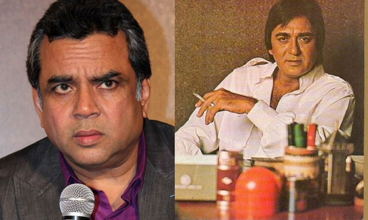 What did Sunil Dutt write to Paresh Rawal hours before he died?