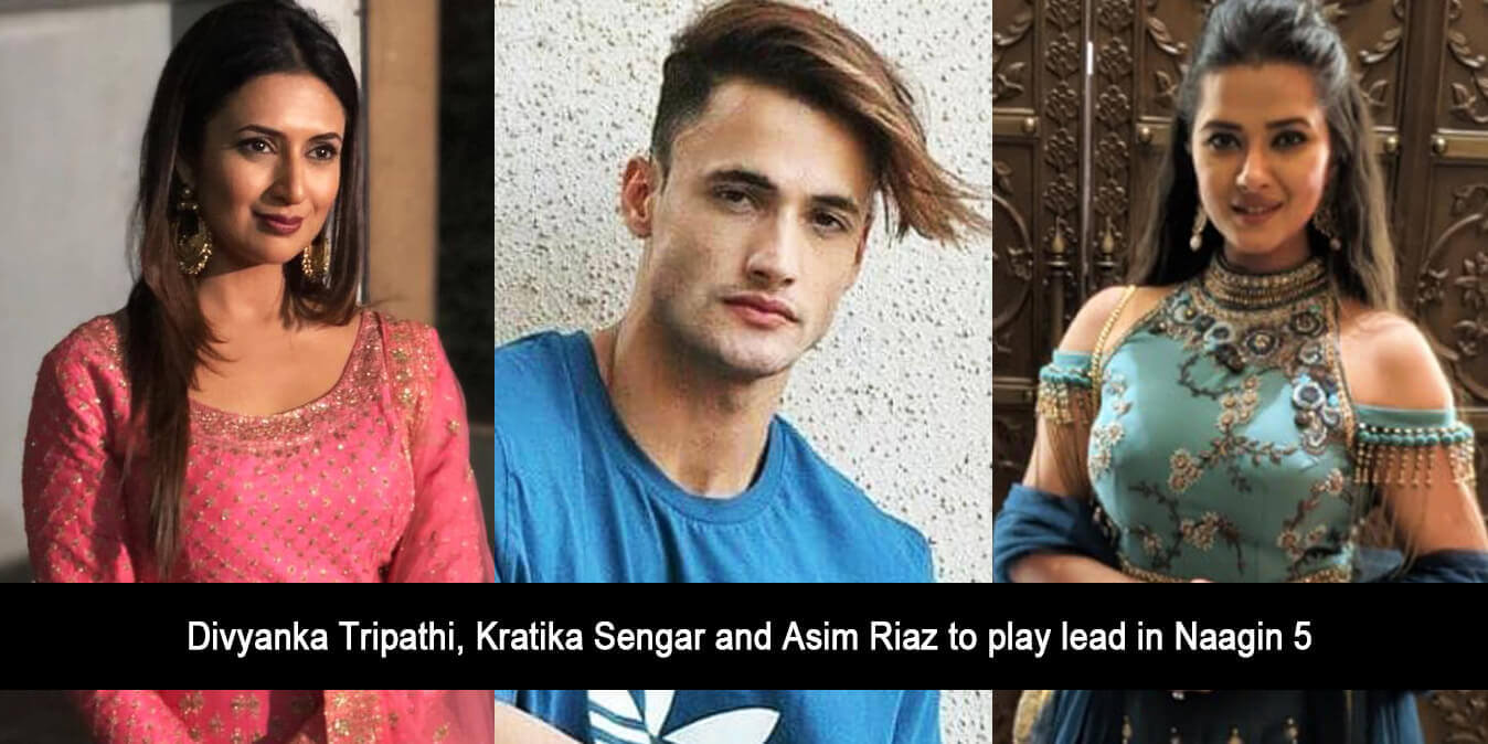 Divyanka Tripathi, Kratika Sengar and Asim Riaz to play Lead in Naagin 5