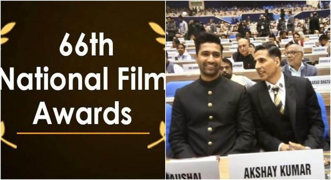 Akshay Kumar awarded for his film 'Padman' at 66th National Film Awards